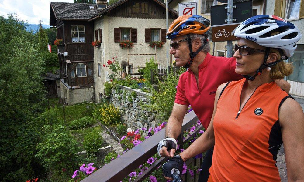 Radfahren in der Almenregion Gitschberg Jochtal