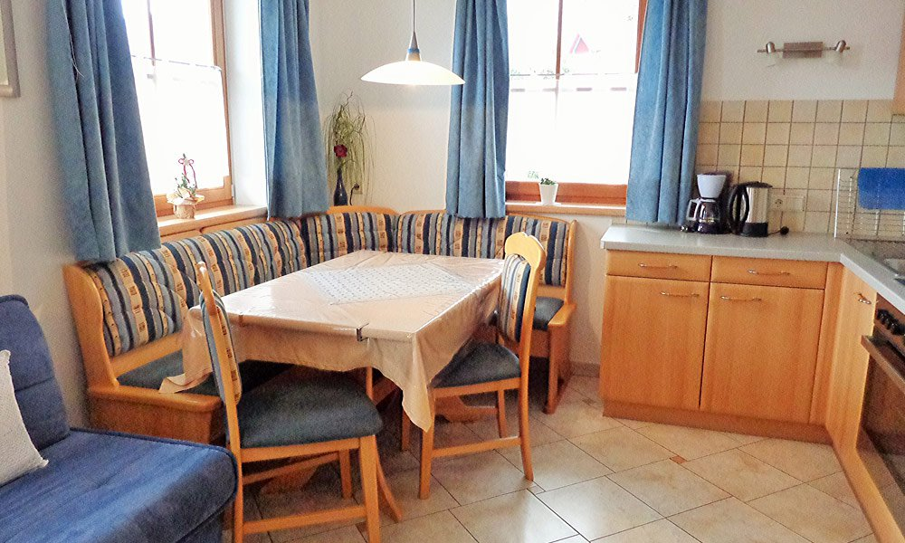 The 35 m² holiday apartment number 1 is suitable for 2-3 people
