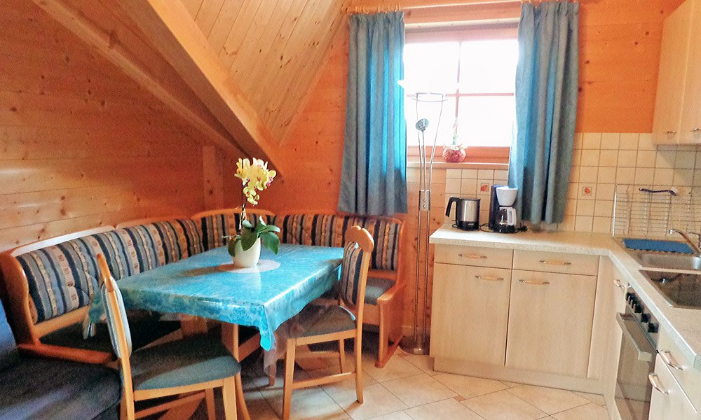 The 54 m² holiday apartment number 3 is suitable for 4-5 people