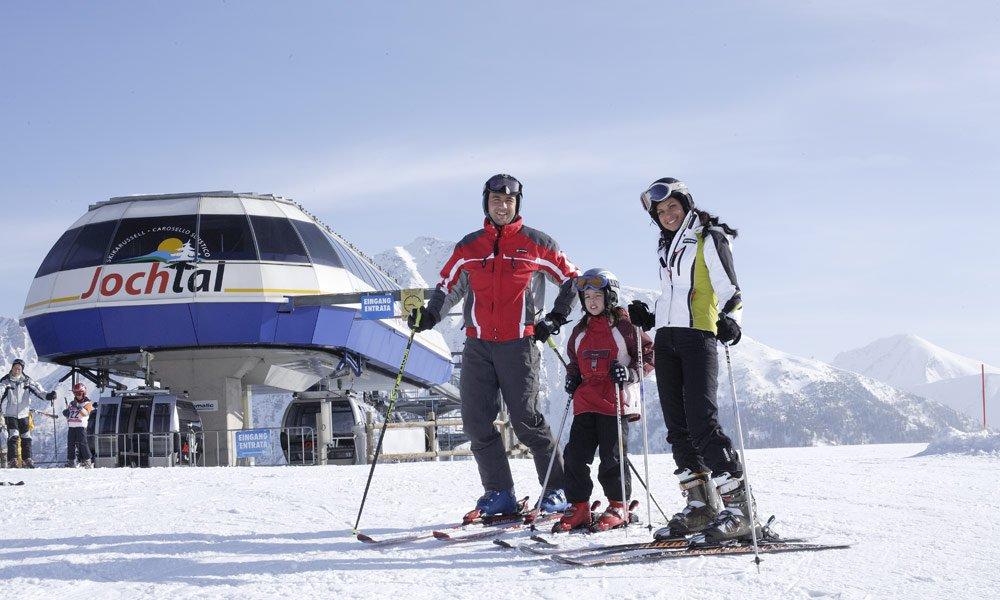 In vacanza sugli sci a Meranza