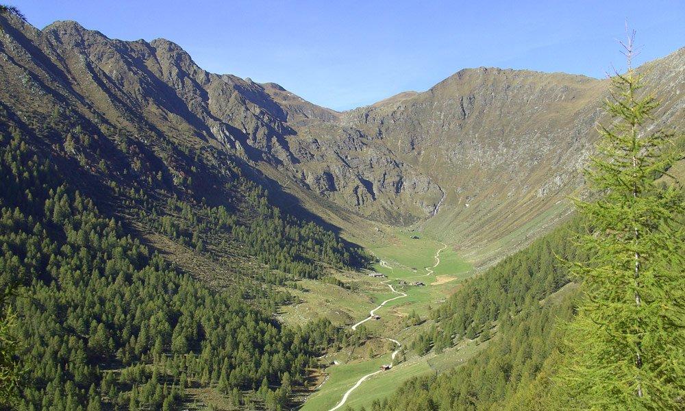 Urlaub in Meransen - Wandern ins Altfasstal
