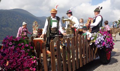Events while on holiday in the meadow region Gitschberg-Jochtal